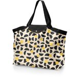 Tote bag with a zip golden moon - PPMC