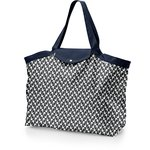 Tote bag with a zip black-headed gulls - PPMC