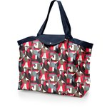 Tote bag with a zip pop bird - PPMC