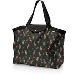 Tote bag with a zip palma girafe - PPMC