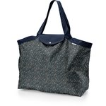 Tote bag with a zip paquerette marine - PPMC