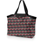 Tote bag with a zip royal poppy - PPMC