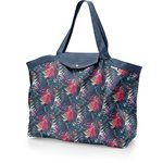 Tote bag with a zip tropical fire - PPMC