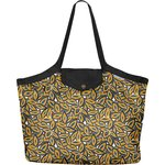 Pleated tote bag - Medium size 1000 leaves - PPMC