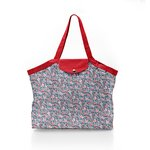 Pleated tote bag - Medium size flowered london - PPMC