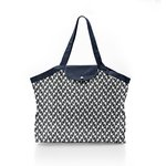 Pleated tote bag - Medium size black-headed gulls - PPMC