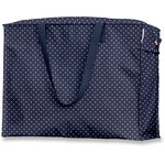 Large storage bag navy blue spots - PPMC