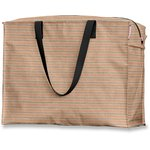 Large storage bag bronze copper stripe  - PPMC