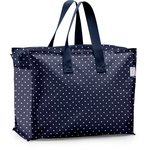 Storage bag navy blue spots - PPMC