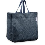 Sac cabas shopping etoile argent jean - PPMC
