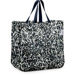 Sac cabas shopping feuillage encre de chine - PPMC