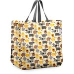 Shopping bag yellow sheep - PPMC