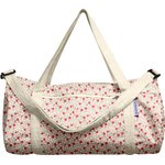 Duffle bag red flower - PPMC