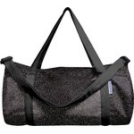 Duffle bag glitter black - PPMC