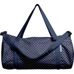 Duffle bag navy blue spots - PPMC