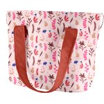 Sac Lunch Isotherme herbier rose - PPMC