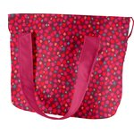 Sac Lunch Isotherme pompons cerise - PPMC