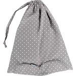 Lingerie bag light grey spots - PPMC