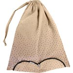 Lingerie bag pink coppers spots - PPMC