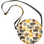 Round bag yellow sheep - PPMC