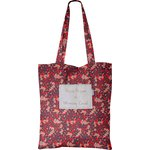 Sac tote bag feuillage vermillon - PPMC