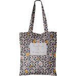 Tote bag ochre flower - PPMC