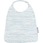 Elastic napkin child striped blue gray glitter - PPMC