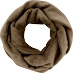 Fleece snood one-size camel - PPMC