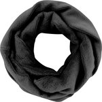Fleece snood one-size black - PPMC