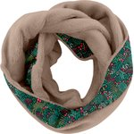 Fleece snood one-size biche pol.camel - PPMC