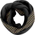Fleece snood one-size inca sun pol.noire - PPMC