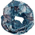 Fabric snood adult feuillage marine - PPMC