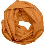 Fabric snood adult caramel golden straw - PPMC