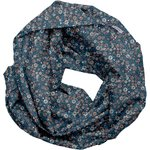 Fabric snood adult paquerette marine - PPMC