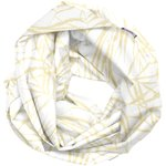 Snood tissu adulte ramage or - PPMC