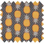 Cotton fabric pineapple - PPMC