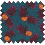 Cotton fabric pineapple party - PPMC
