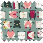 Cotton fabric animals cube - PPMC
