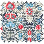 Cotton fabric azulejos - PPMC