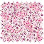 Cotton fabric lilac cashmere - PPMC