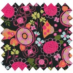 Cotton fabric autumn bellflower - PPMC