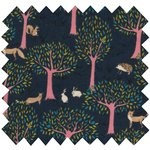 Cotton fabric autumn tale - PPMC