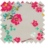 Cotton fabric rococo stamp - PPMC