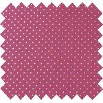 Cotton fabric etoile or fuchsia - PPMC