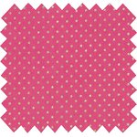 Cotton fabric fuchsia gold star - PPMC
