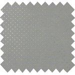 Tissu coton etoile or gris - PPMC