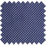Cotton fabric etoile marine or - PPMC