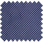 Tissu coton etoile marine or - PPMC