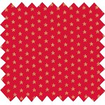 Cotton fabric etoile or rouge - PPMC