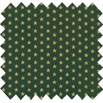 Cotton fabric etoile or vert  - PPMC